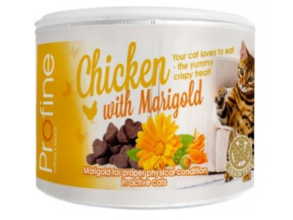 7035 profine cat crunchy snack chicken marigold 50g