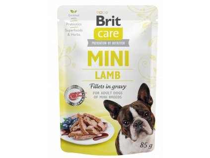 Brit Care Mini Lamb fillets in gravy 85 g