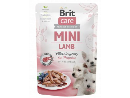 Brit Care Mini Puppy Lamb fillets in gravy 85 g