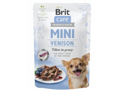 Brit Care Mini Venison fillets in gravy 85 g