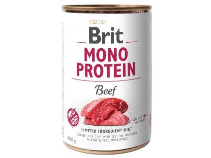 Brit Mono Protein Beef 400 g 5+1 ZDARMA