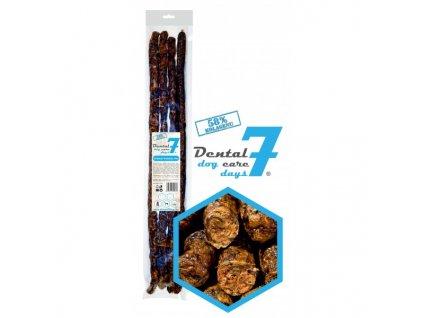 Dental Dog Care 7 Days drůbeží klobáska 50 cm průměr 1,5 cm 4 ks