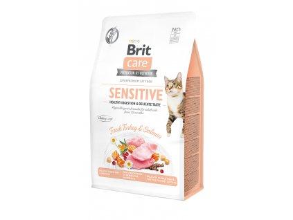 Brit Care Cat Grain-Free Sensitive Healthy Digestion & Delicate Taste 400 g