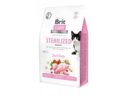 Brit Care Cat Grain-Free Sterilized Sensitive 400 g