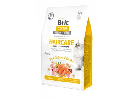 Brit Care Cat Grain-Free Haircare Healthy & Shiny Coat 400 g
