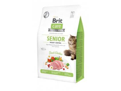 Brit Care Cat Grain-Free Senior Weight Control 400 g