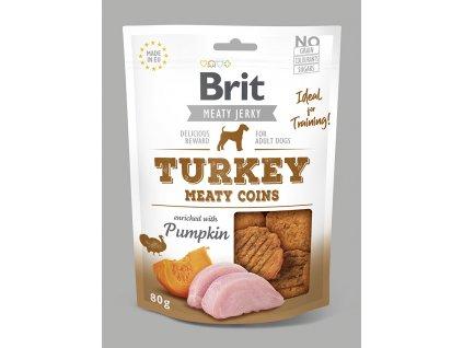 Brit Jerky Turkey Meaty Coins