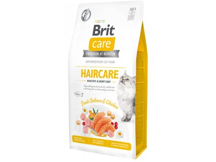 Brit Care Cat Grain-Free Haircare Healthy & Shiny Coat 2 kg