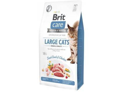 Brit Care Cat Grain-Free Large cats Power & Vitality 7 kg