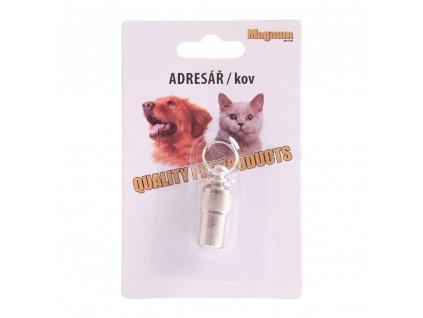 Kovový adresář pro psy a pro kočky