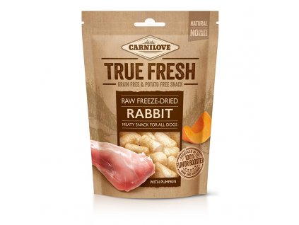Carnilove Raw freeze-dried Rabbit with pumpkin 40g