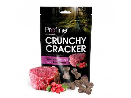 Profine Dog Crunchy Cracker Venison enriched with Hawthorn