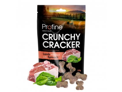 Profine Dog Crunchy Cracker Lamb enriched with Spinach