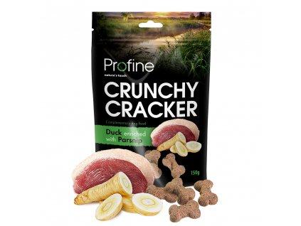 Profine Dog Crunchy Cracker Duck enriched with Parsnip