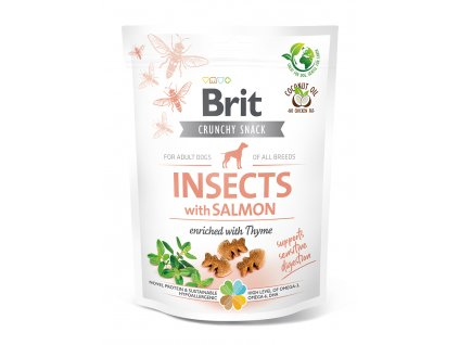 20324 BCD crunchy snacks INSECT SALMON 200g K1 3D