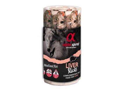 Alpha Spirit Dog Liver Sticks Ristra