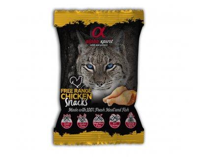 Alpha Spirit Cat Free range Chicken Snacks 50 g