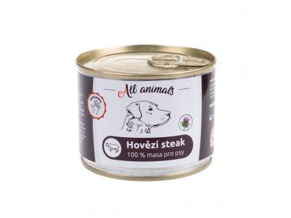 All Animals Dog hovězí steak 200 g