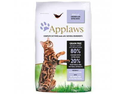 APPLAWS Dry Cat Chicken with Duck