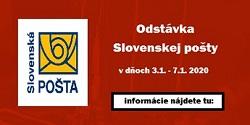 Odstávka Slovenskej pošty
