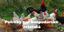 Potreby pre hospodárske zvieratá
