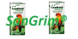 Použitie SanGrimu® AV u vtákov