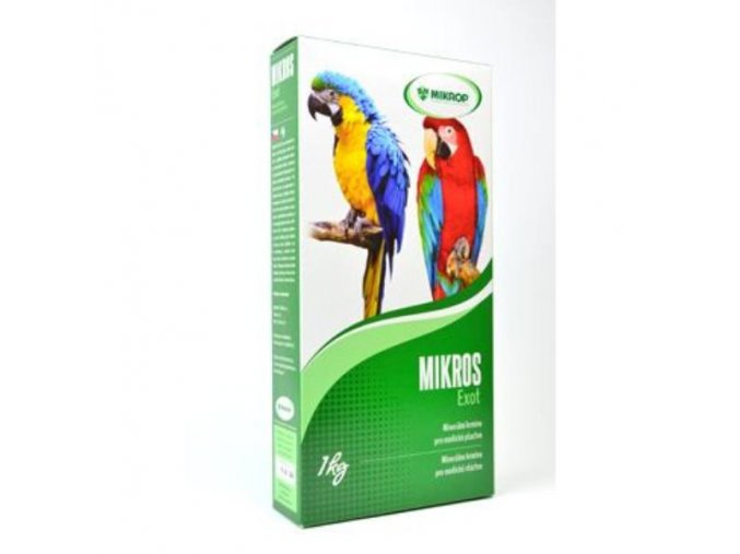 Mikros VGE pre papagáje 1kg