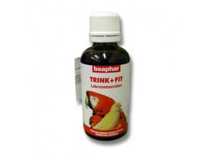 Beaphar minerálne kvapky Trink Fit exoti 50ml