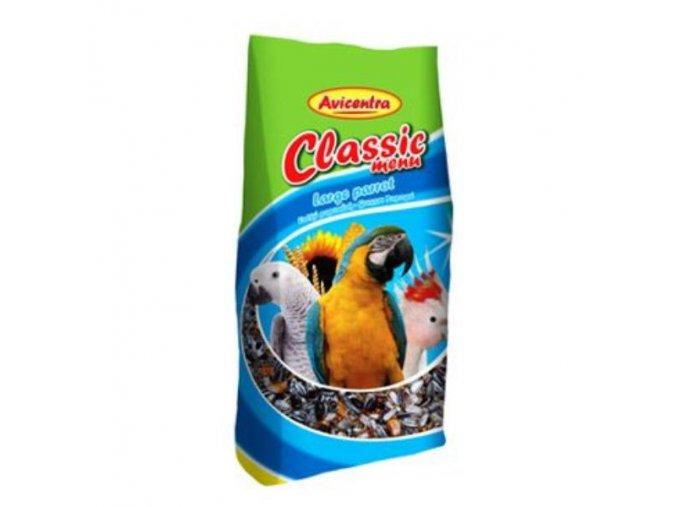 Avicentra Classic menu veľký papagáj 0,5kg