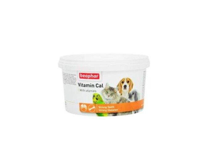 Beaphar vápnik Vitamín Cal pes, mačka plv 250g