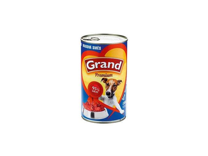 GRAND konzerva mäsová zmes 1300g