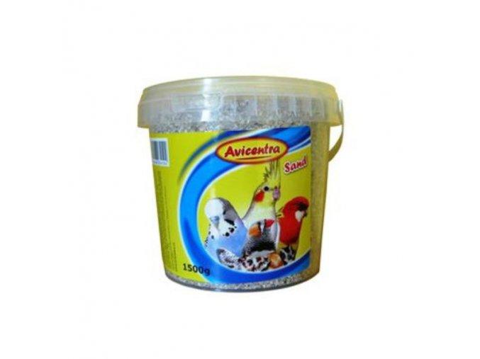 Avicentra piesok pre vtáky s mušlami - 1,5kg