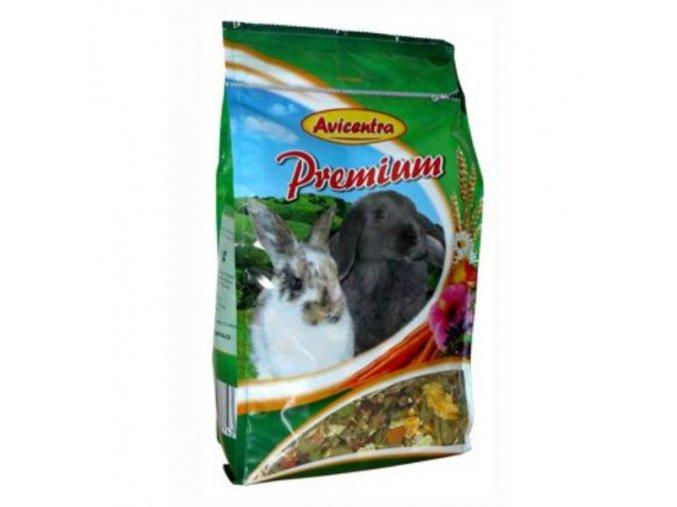 Avicentra Premium králik 850g