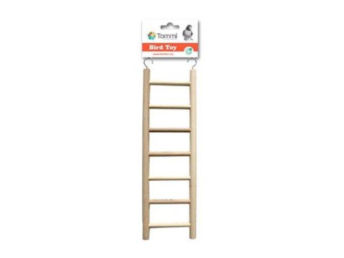 Rebrík drevený 28cm, 7 stupňov