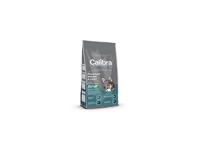 Calibra Dog Premium Senior&Light 12kg