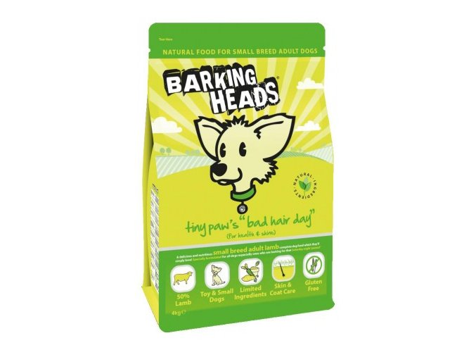 BARKING HEADS Tiny Paws Bad Hair Day 1.5kg
