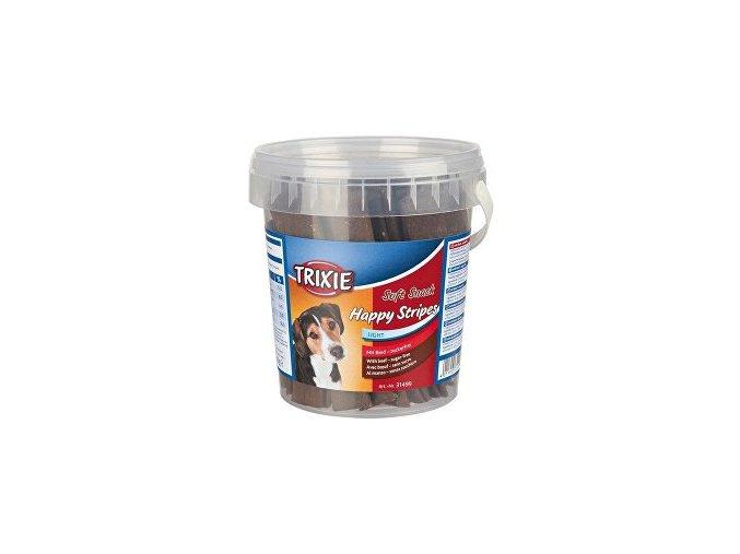 Trixie Soft Snack Happy Stripes hovädzie pásky 500g