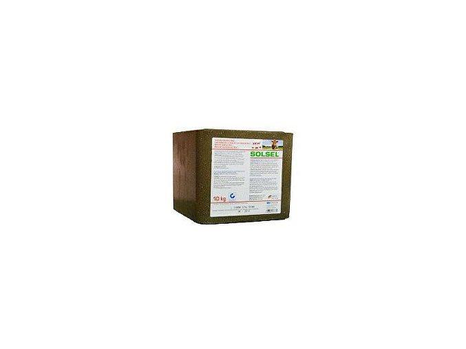 Liz soľný minerálny EXTRA 10kg kocka