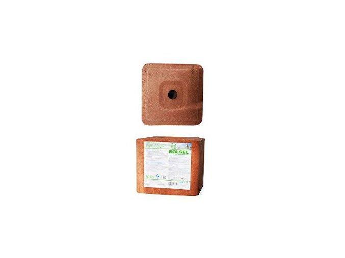 Liz soľný minerálne bez medi 10kg kocka