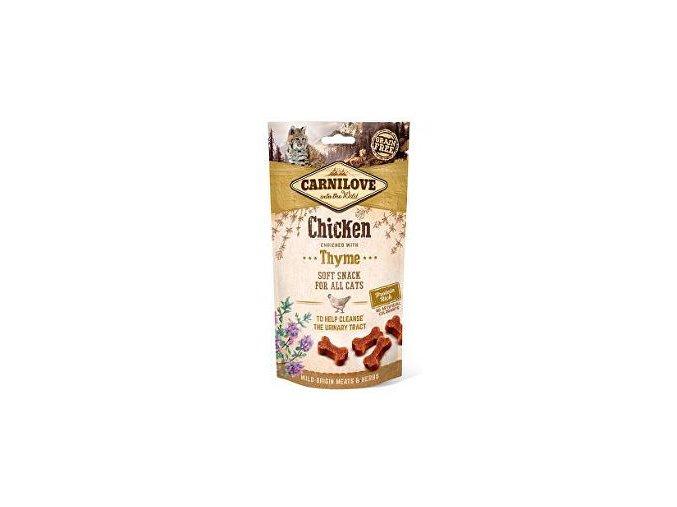 Carnilove Cat Semi Moist Snack Chicken&Thyme 50g