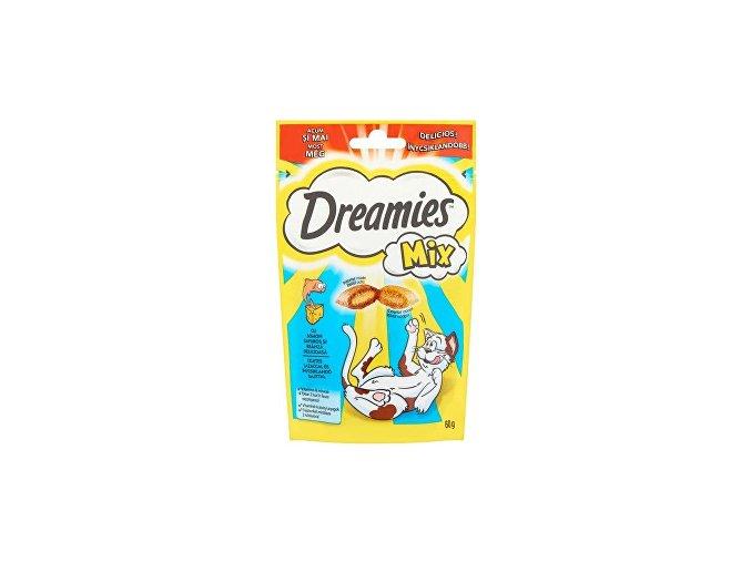 Dreamies pochúťka s lososom a syrom 60g
