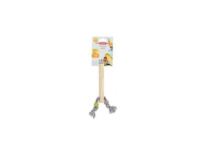 Bidlo pre vtáky drevené M 21 cm