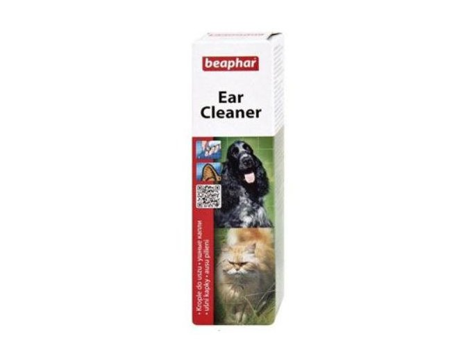 Beaphar ušné kvapky Ear-Cleaner pes, mačka 50ml