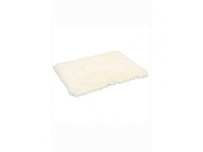 Pelech koberec Yetti biely 50x50x15 cm