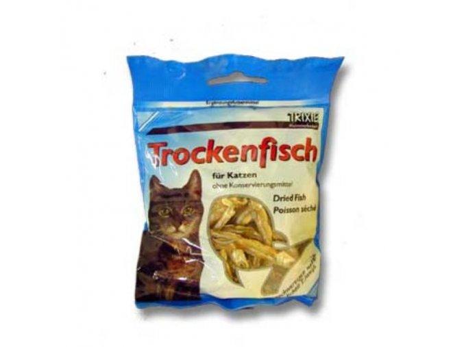 Rybičky sušené pre mačky 5-6cm 50g