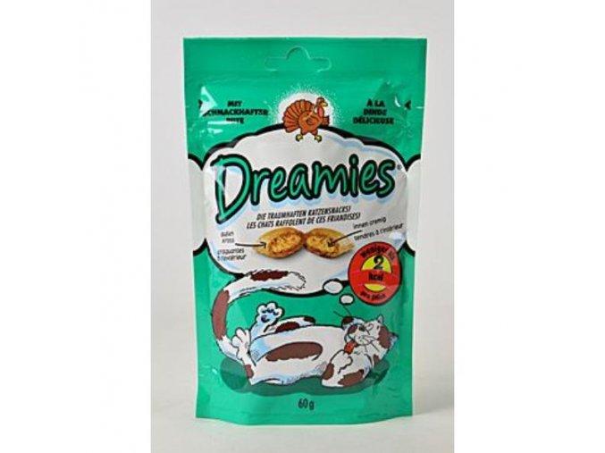 Dreamies mačka kapsičky s morkou 60g