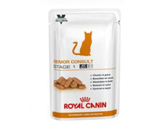 Royal Canin VD Feline Senior Cons Stage 1 12x100g kaps