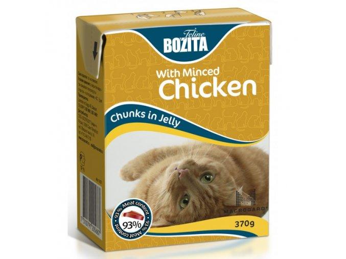 Bozita Cat kúsky v želé s kuracím Tetrapak 370g