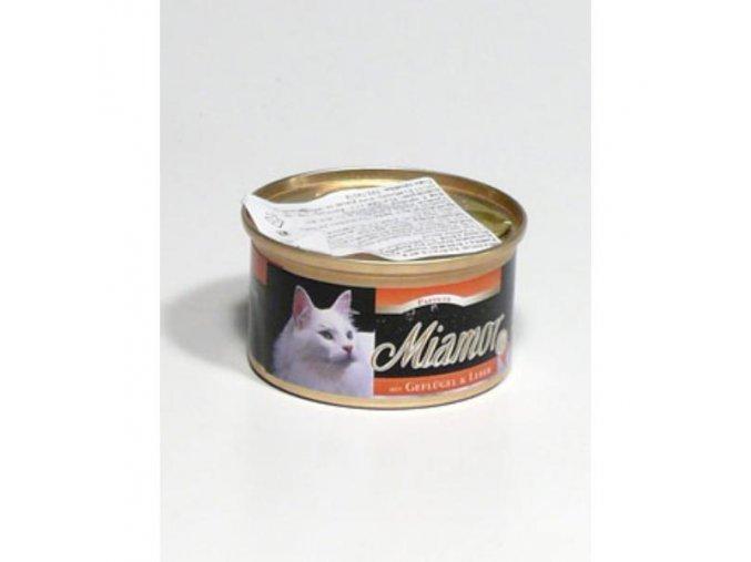 Miamor Cat paštéta kura+pečeň 85g