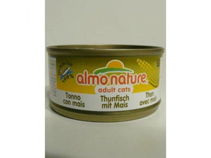 Almo Cat Nature Classic konz. kukurica+tuniak 70g